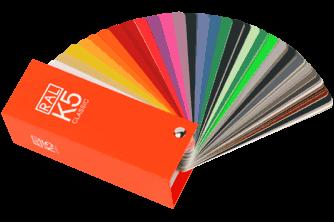 RAL-K5 Color Fan Deck
