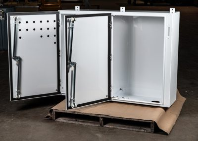 Nema 4 Enclosure with Hinged Doors