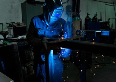 Welding Metal Frames