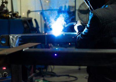 Welding Steel Frames